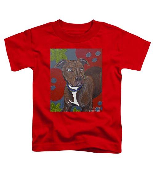 Niko The Pit Bull Toddler T-Shirt