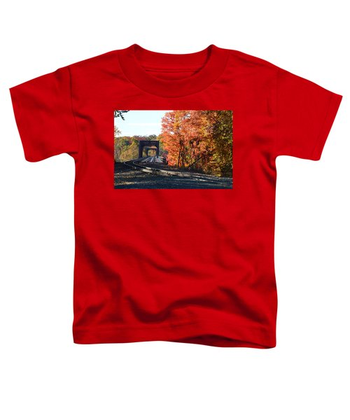 No Train Coming Toddler T-Shirt