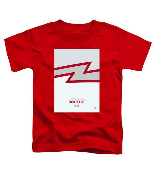 No022 My Grease Minimal Movie Car Poster Toddler T-Shirt