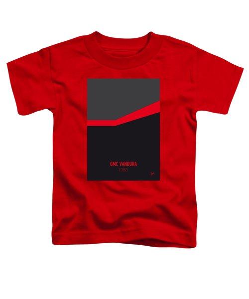 No023 My Ateam Minimal Movie Car Poster Toddler T-Shirt