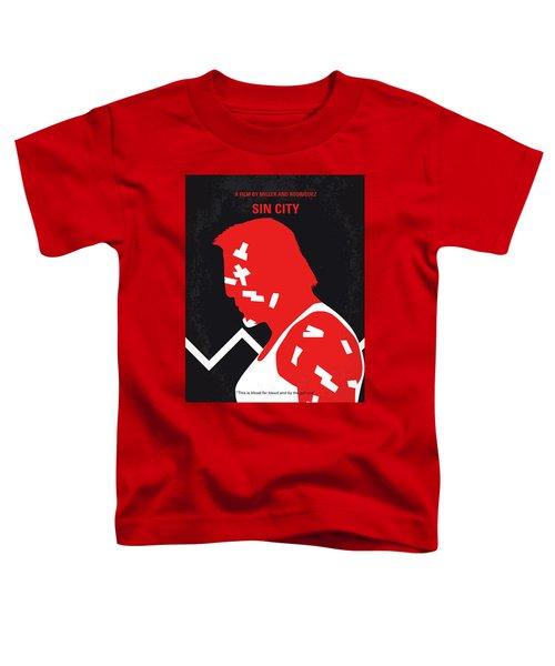 No304-1 My Sin City Minimal Movie Poster Toddler T-Shirt