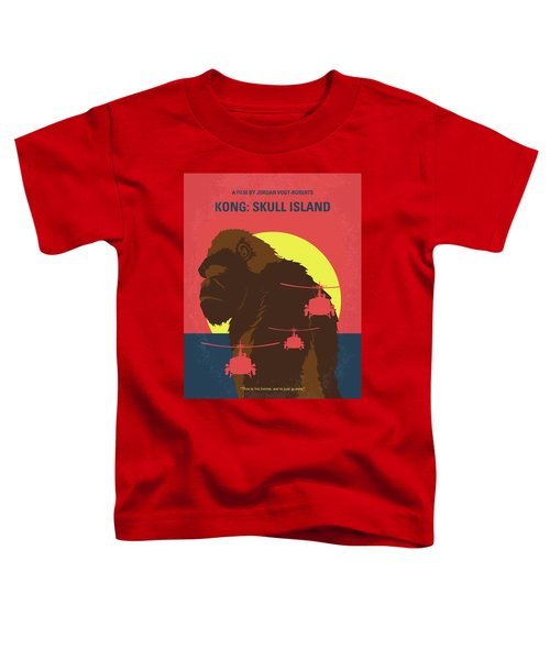 No799 My Skull Island Minimal Movie Poster Toddler T-Shirt