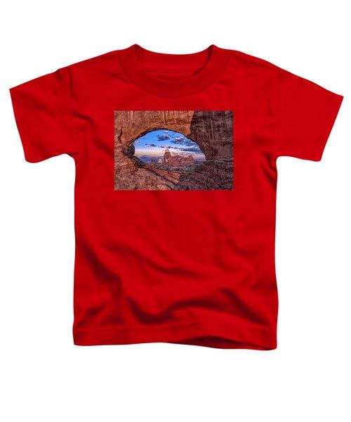 North Window At Sunrise Toddler T-Shirt