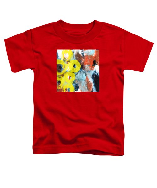 October- Abstract Art By Linda Woods Toddler T-Shirt