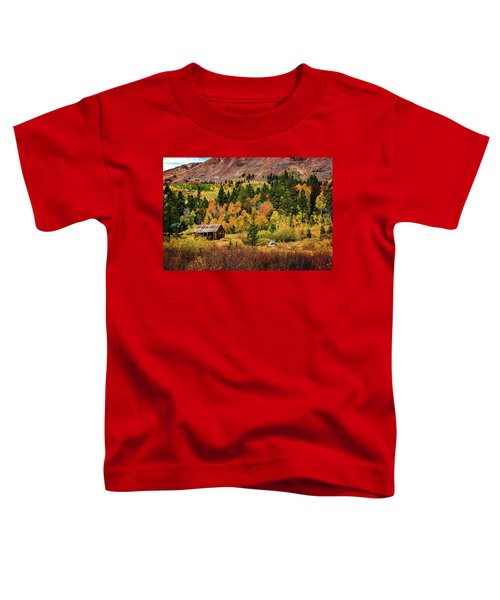 Old Cabin In Hope Valley Toddler T-Shirt