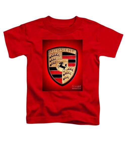 Old Porsche Badge Toddler T-Shirt