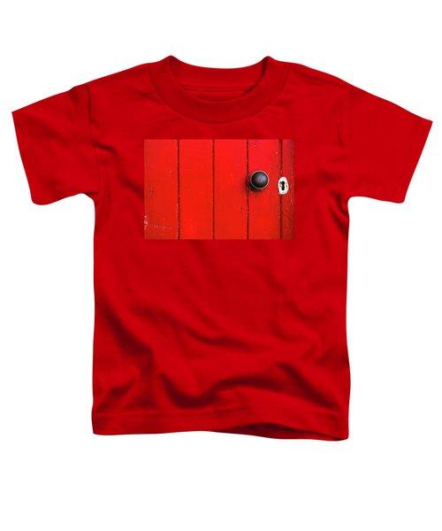 Old Red Door  Toddler T-Shirt