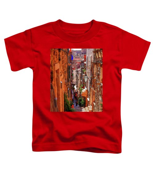 Old Town Dubrovniks Inner Passages Toddler T-Shirt