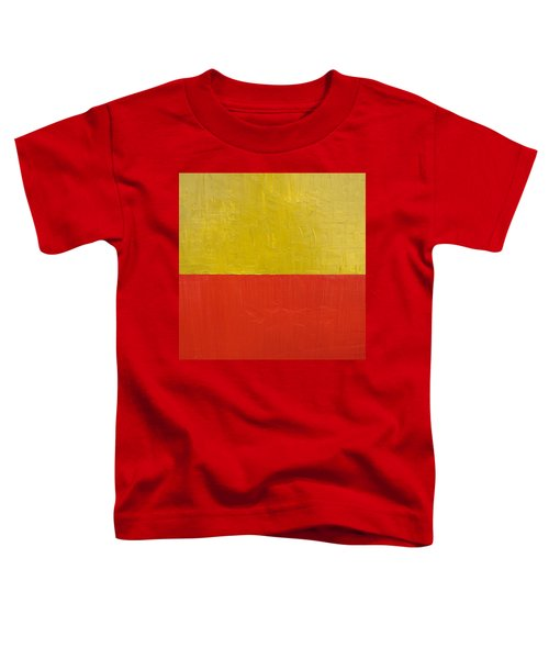 Olive Fire Engine Red Toddler T-Shirt
