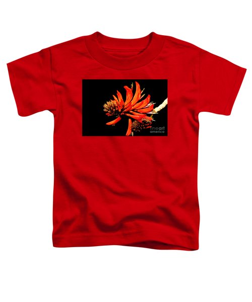 Toddler T-Shirt featuring the photograph Orange Clover II by Stephen Mitchell