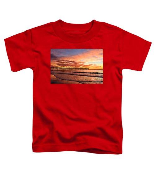 Orange Pier Toddler T-Shirt