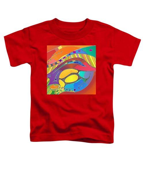 Organic Life Scan Or Cellular Light - Original, Square Toddler T-Shirt