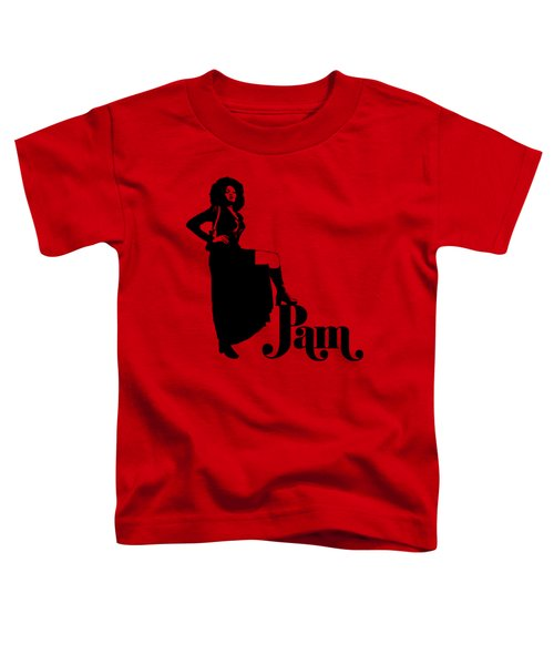 Pam Grier Toddler T-Shirt