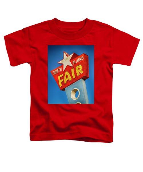 Panhandle South Plains Fair Sign Toddler T-Shirt