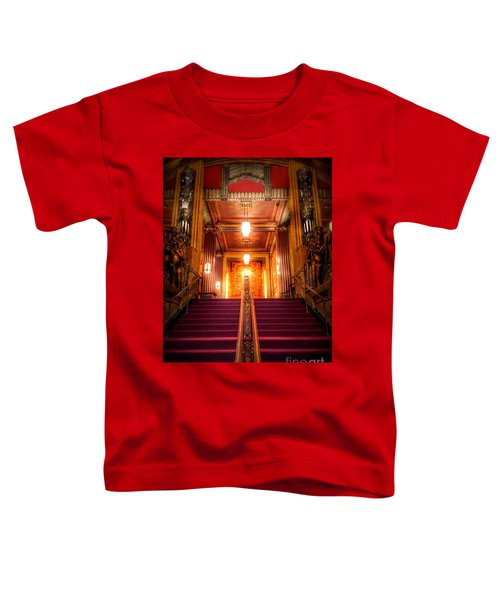 Pantages Theater's Grand Staircase Toddler T-Shirt