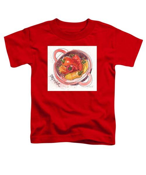 Paprika Toddler T-Shirt