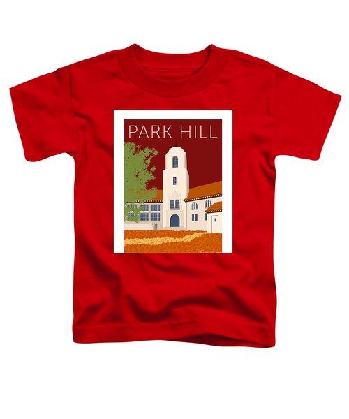 Park Hill Maroon Toddler T-Shirt