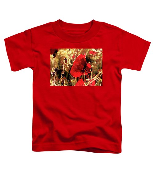 Passionate About Poppies Toddler T-Shirt