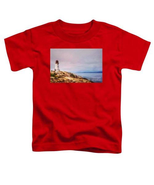 Peggys Point Lighthouse Toddler T-Shirt