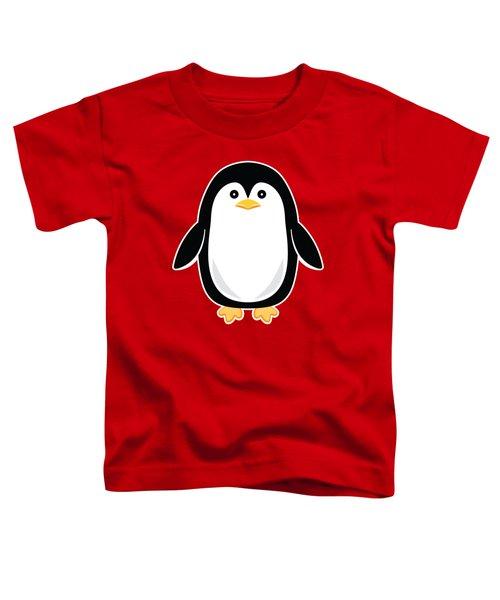 Perky Baby Penguin Toddler T-Shirt