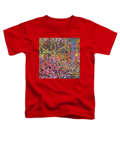 Toddler T-Shirt featuring the painting Phantasmagoria by Joanne Smoley