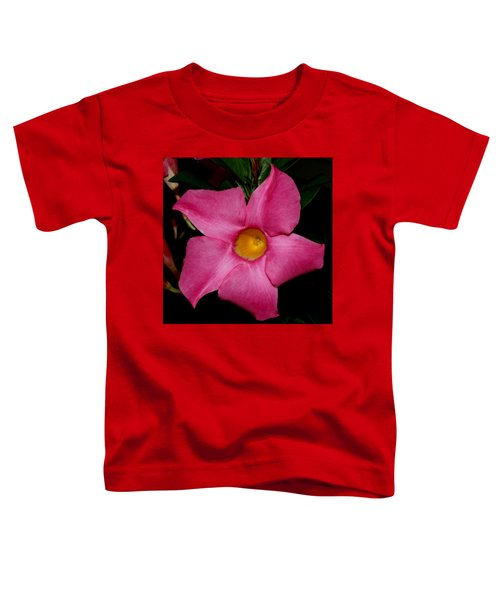 Pink Mandevilla Toddler T-Shirt
