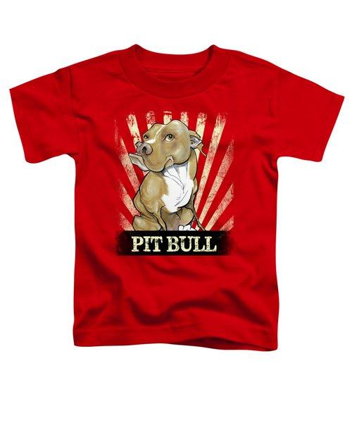 Pit Bull Revolution Toddler T-Shirt