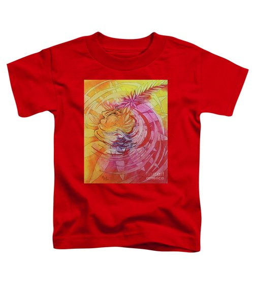 Polynesian Warrior Toddler T-Shirt
