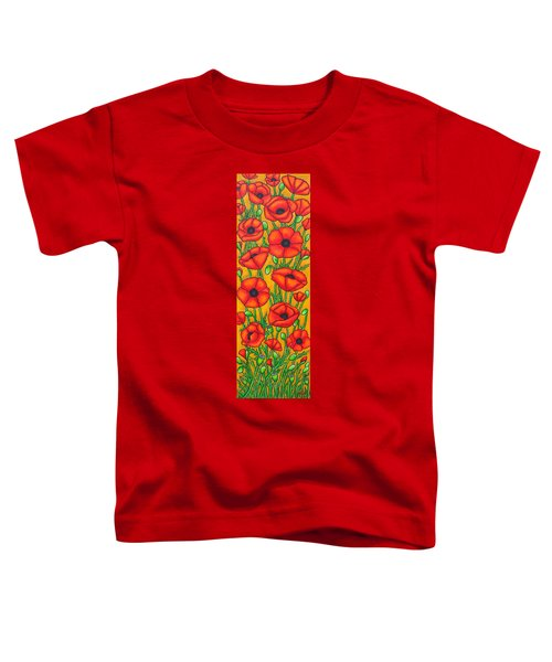 Poppies Under The Tuscan Sun Toddler T-Shirt