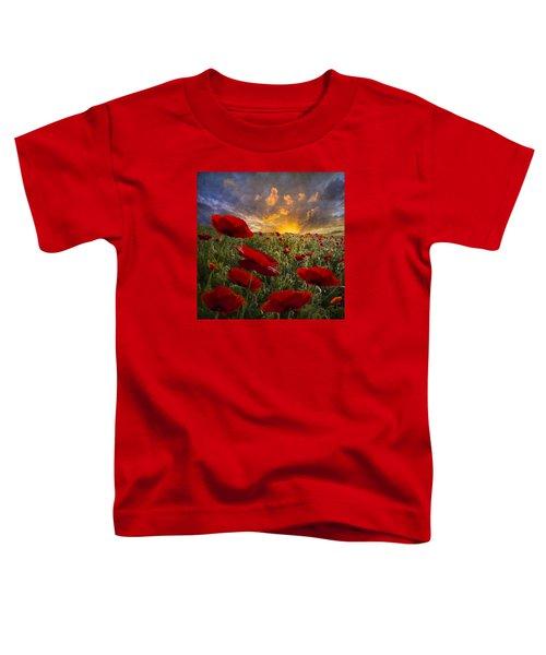 Poppy Field Toddler T-Shirt