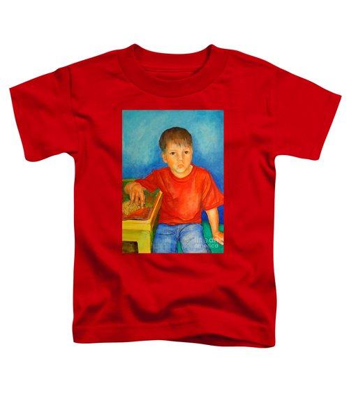 Portrait Andres Toddler T-Shirt
