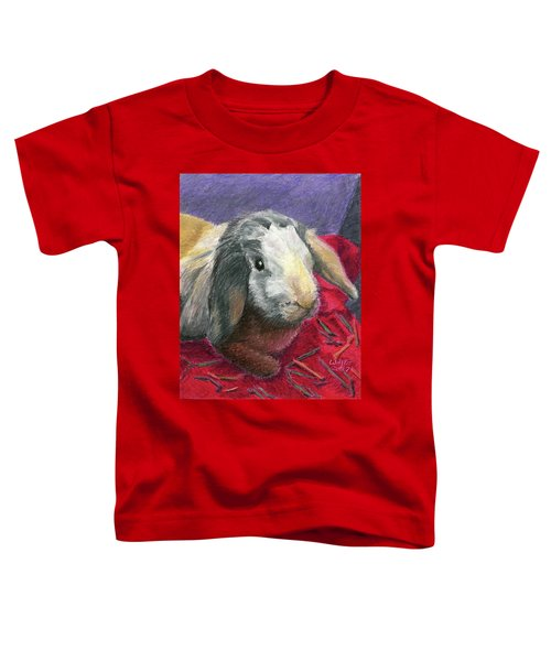 Portrait Of A Bunny Toddler T-Shirt
