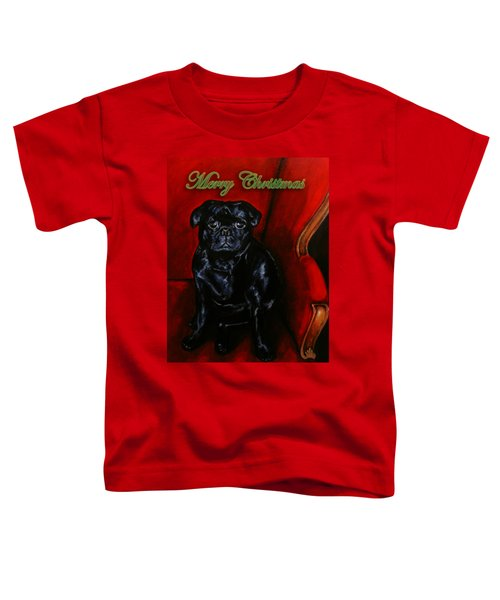 Puggsley Christmas Toddler T-Shirt