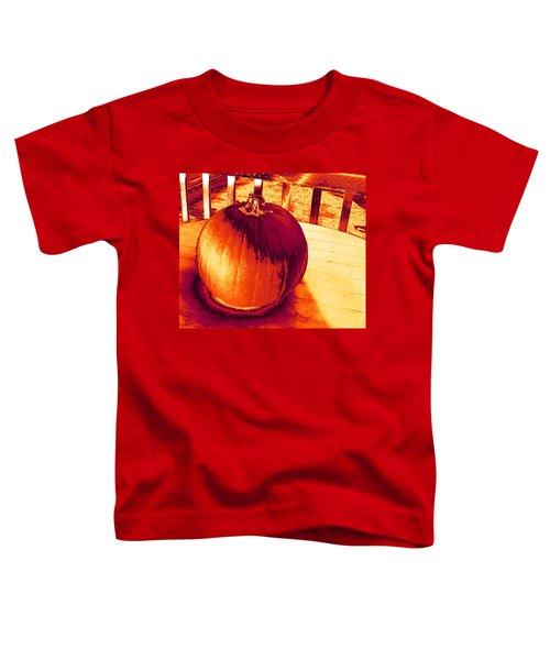 Pumpkin #3 Toddler T-Shirt