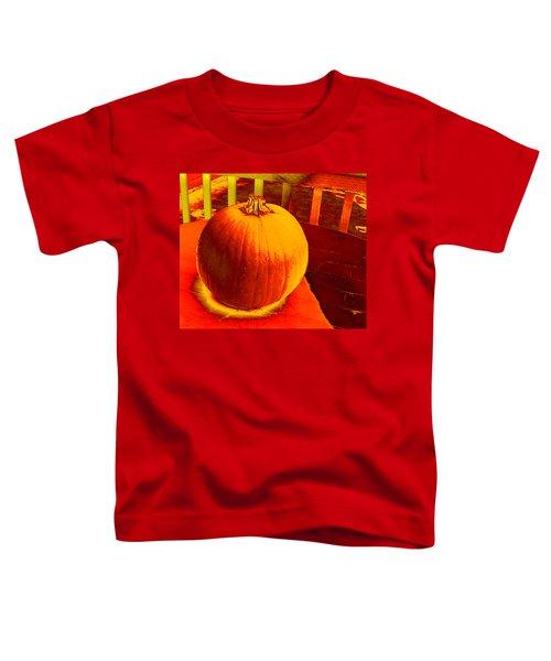 Pumpkin #4 Toddler T-Shirt