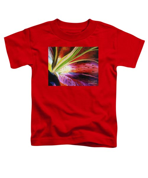 Purple Lily Toddler T-Shirt