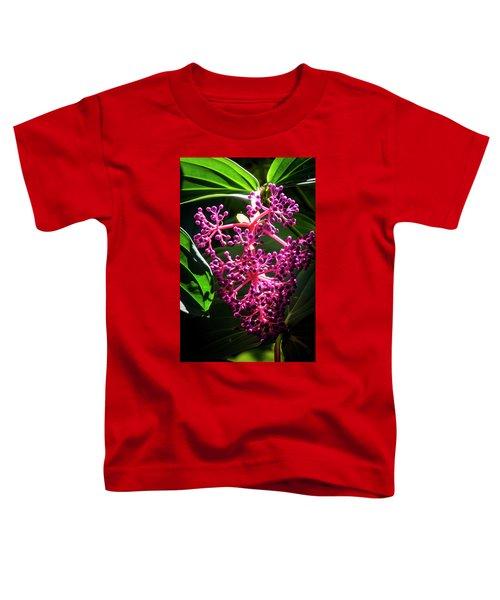 Purple Plant Toddler T-Shirt
