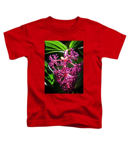 Purple Plant Toddler T-Shirt
