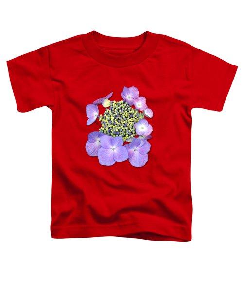 Purple Pods Sehemu Mbili Unyenyekevu Toddler T-Shirt