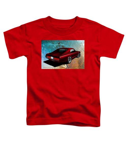 Toddler T-Shirt featuring the digital art Purrrrfection by Doug Schramm