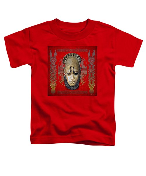 Queen Mother Idia  Toddler T-Shirt by Serge Averbukh