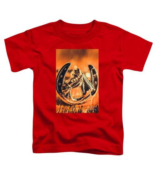 Racehorse Luck Toddler T-Shirt