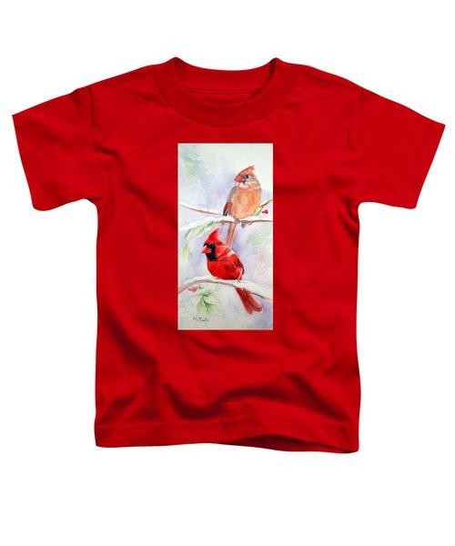 Radiance Of Cardinals Toddler T-Shirt