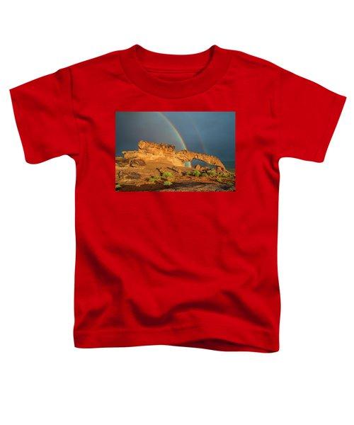 Rainbow Arch Toddler T-Shirt