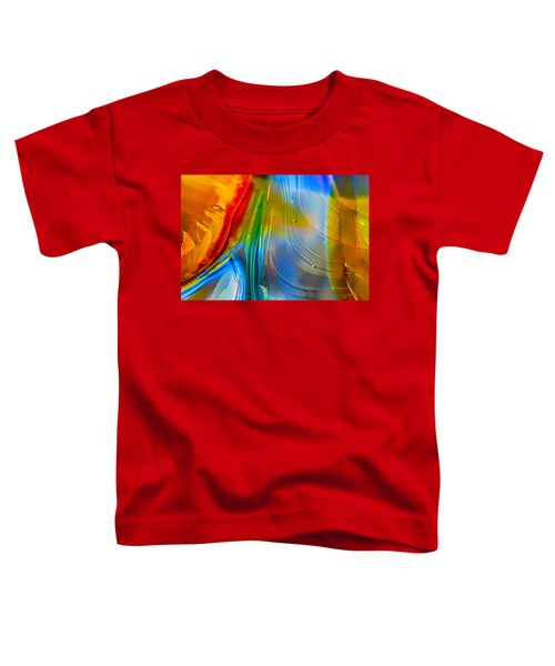 Rainbow Waterfalls Toddler T-Shirt