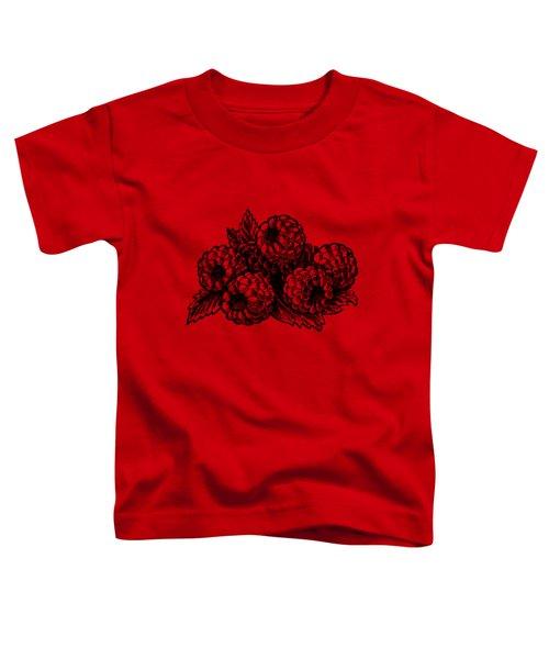Rasbperries Toddler T-Shirt by Irina Sztukowski