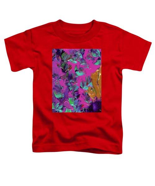 Razberry Ocean Of Butterflies Toddler T-Shirt