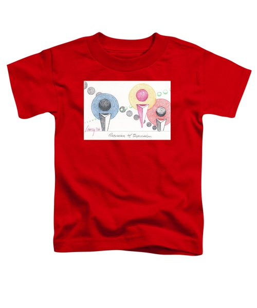 Recession Of Depression 1 Toddler T-Shirt by Rod Ismay