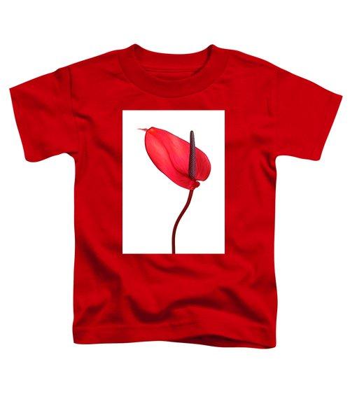Red Anthrium Toddler T-Shirt