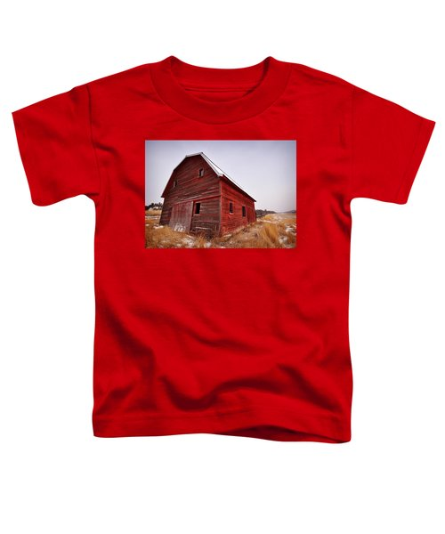 Red Barn Toddler T-Shirt